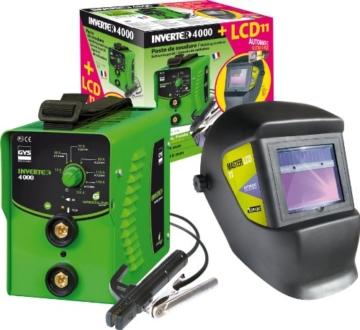 GYS Elektroden Schweißinverter 4000 + LCD 11 -