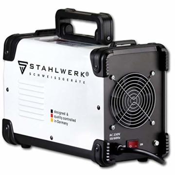 STAHLWERK ARC 200 ST IGBT - Schweißgerät DC MMA/E-Hand Welder mit echten 200 Ampere sehr kompakt, weiß, 5 Jahre Herstellergarantie - 5