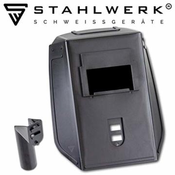 STAHLWERK ARC 200 ST IGBT - Schweißgerät DC MMA/E-Hand Welder mit echten 200 Ampere sehr kompakt, weiß, 5 Jahre Herstellergarantie - 8