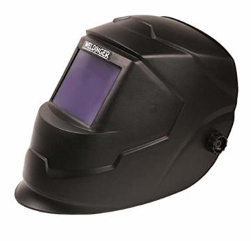 WELDINGER Aktionsset Schweißinverter E 181 eco, Automatik-Schweißhelm, Elektrodensortiment, Schlackehammer, Handschuhe - 3