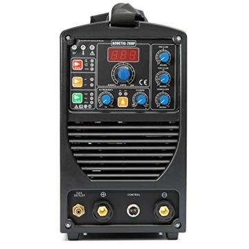 IPOTOOLS ACDCTIG 200P WIG Schweißgerät AC DC Schweissgerät mit 200 Amper Volldigitales Inverterschweißgerät Inkl HF-Zündung, Pulsfunktion, MMA/E-Hand, IGBT - 5