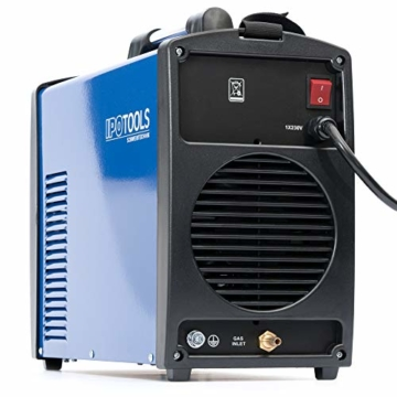 IPOTOOLS ACDCTIG 200P WIG Schweißgerät AC DC Schweissgerät mit 200 Amper Volldigitales Inverterschweißgerät Inkl HF-Zündung, Pulsfunktion, MMA/E-Hand, IGBT - 7