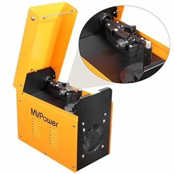 MVPOWER Trafo-Schweißgerät MIG130 Elektrodenschweißgerät Profi Elektroden Schweißmaschine 120A 230V inkl. Draht - 6