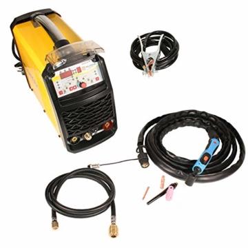 WELDINGER WIG-Schweißgerät WE 202P DC HF-Zündung Puls digitale Steuerung 200 A - 2